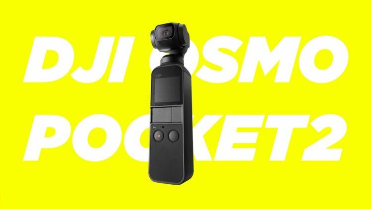 DJI OSMO Pocket 2 coming 20.10.2020 capture magic at hand