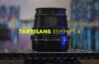 7Artisans 35mm f1.4 ASPC M4/3 lens review